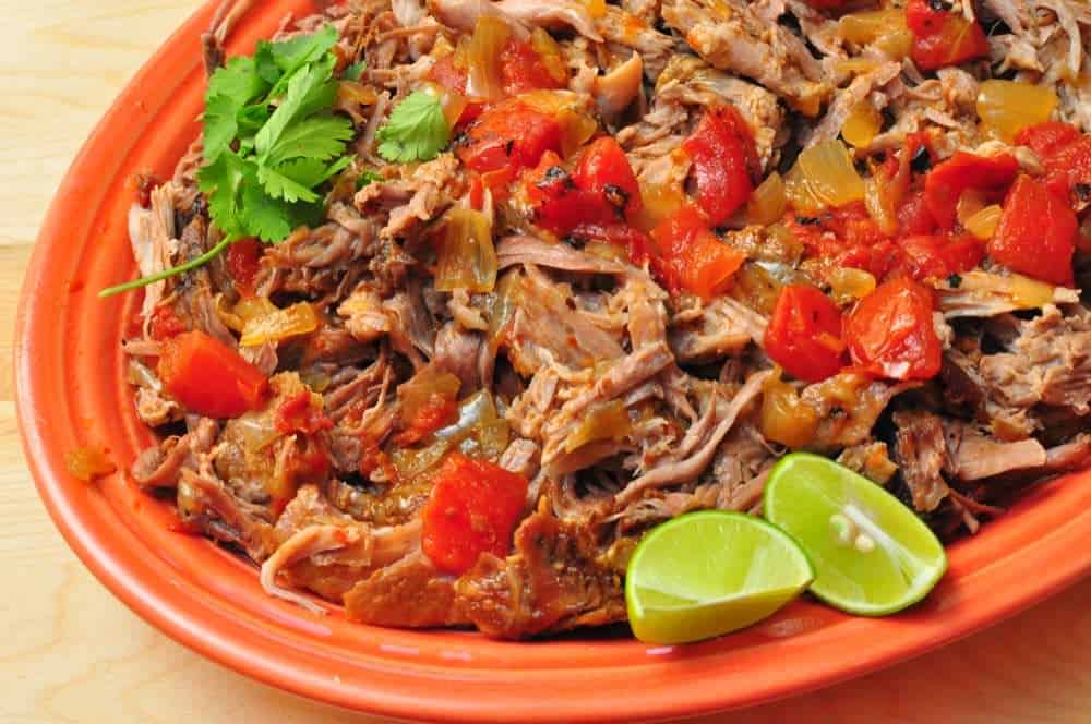 Slow Cooker Mexican Shredded Pork (Pork Tinga) - Dad Cooks Dinner