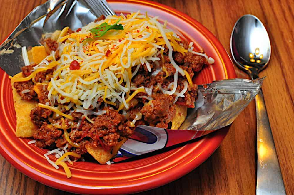 ... chili recipe. This year I'm serving a Texas standard: Frito pie