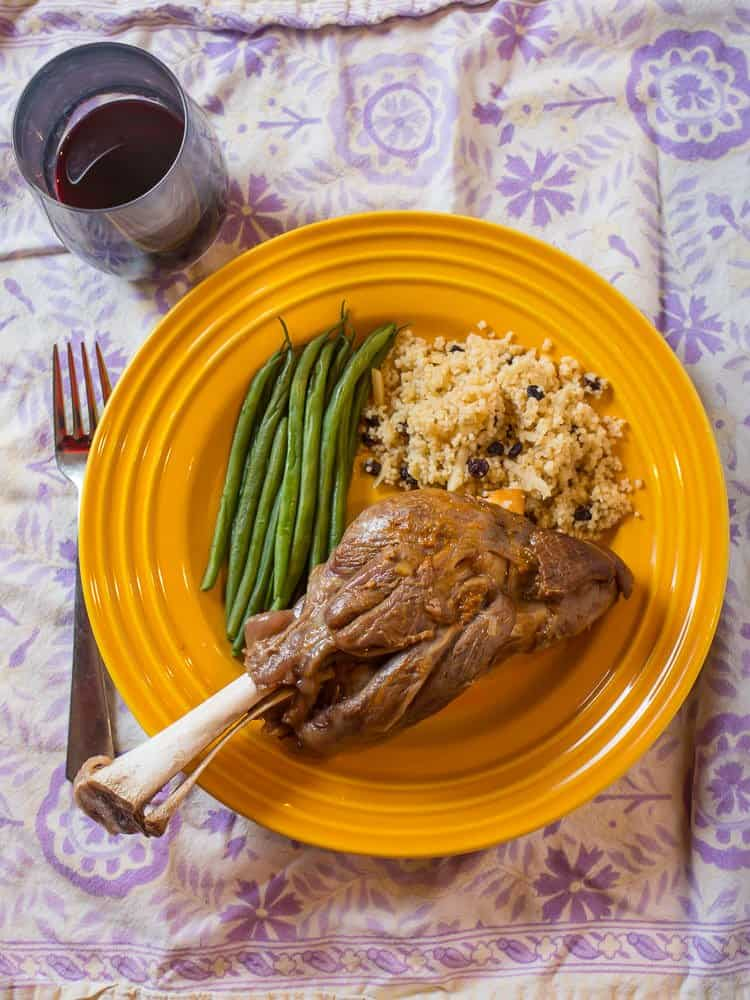 Pressure Cooker Lamb Shanks - Dad Cooks Dinner