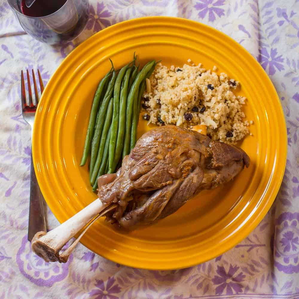 Pressure Cooker Lamb Shanks - Dad Cooks Dinner