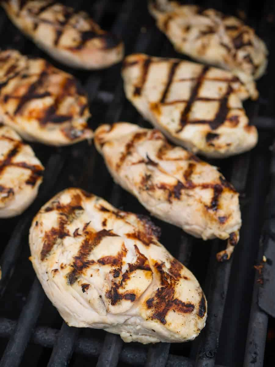 Grilled Boneless Chicken Breasts with Citrus Marinade ...