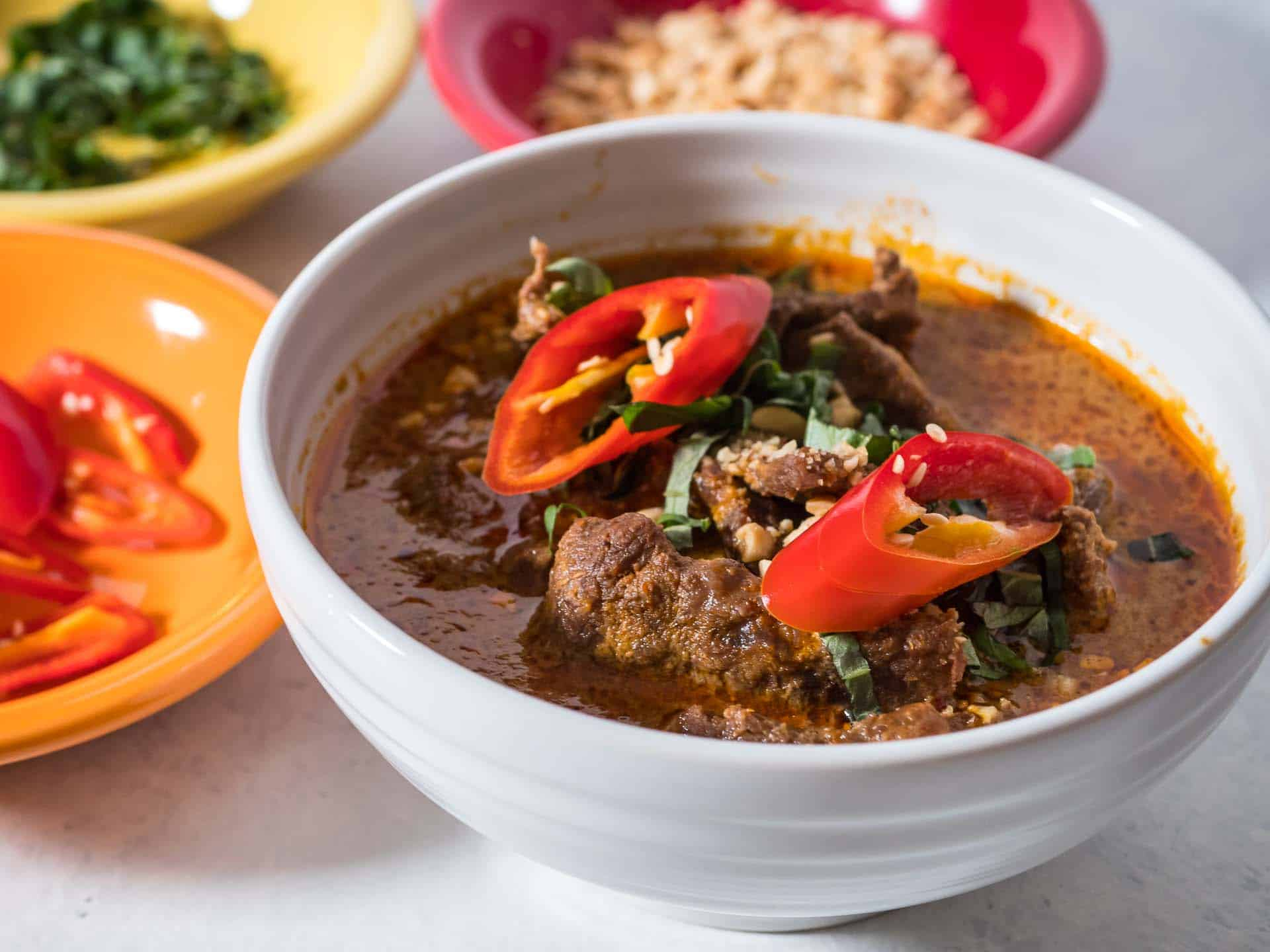 Pressure Cooker Thai Panang Beef Curry - Dad Cooks Dinner